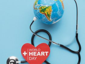 top-view-world-heart-day-concept-with-globe