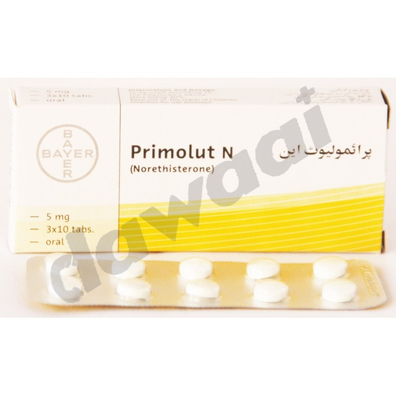 Primolut n 5mg uses side effects price online in for Primolut n tablet use