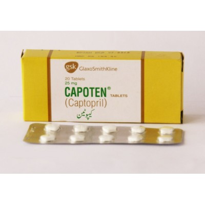 Adverse Side Effects Of Captopril