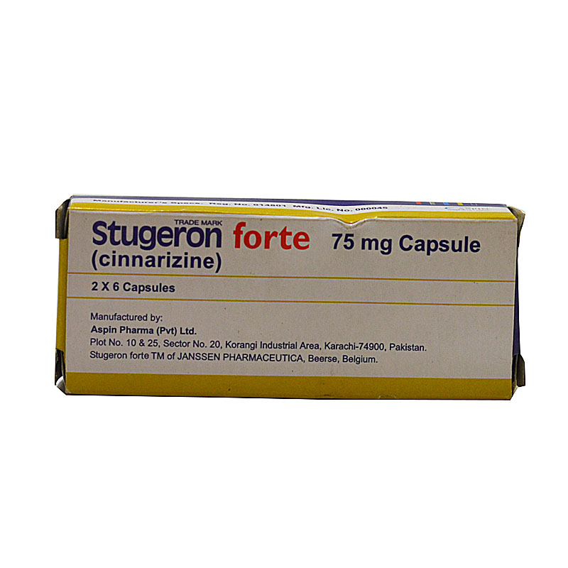 Stugeron Forte 75mg Uses Side Effects Price Online