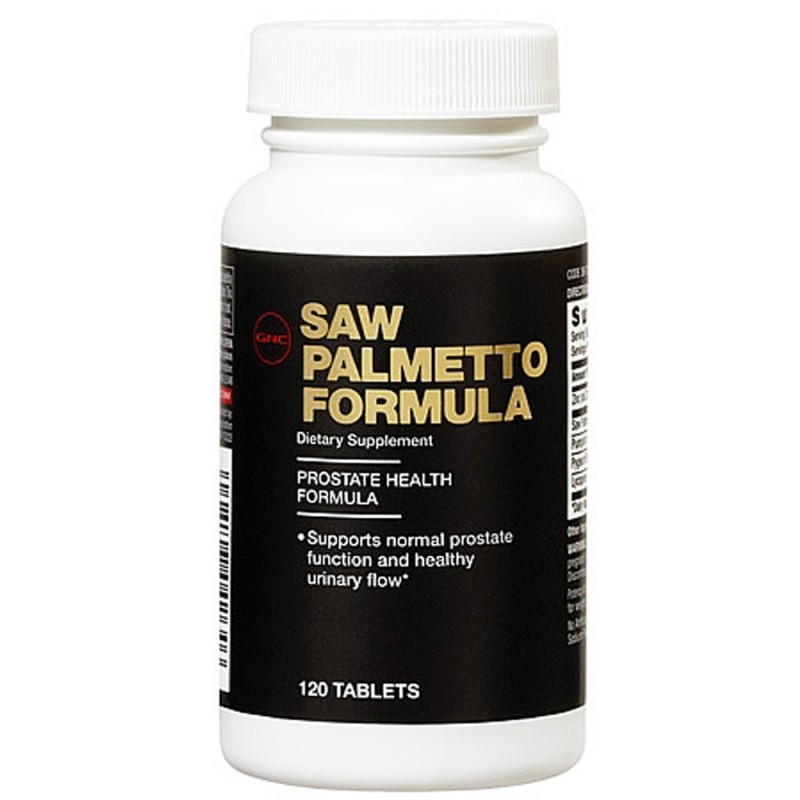 Gnc Men S Saw Palmetto Formula 120 Tablets Uses Side
