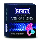 Dzire Vibration Ring And Latex Condom