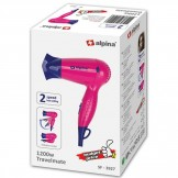 Alpina Travel Hair Dryer Pink - SF-3927