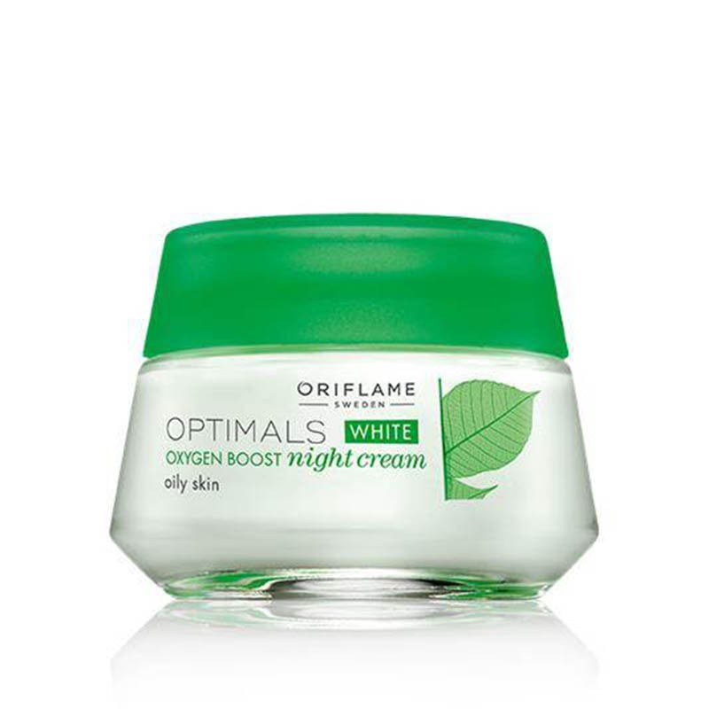 Buy Oriflame Optimals White Ob Night Oily 26842 Online