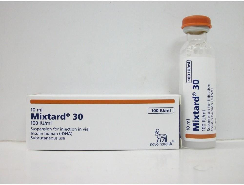 Mixtard 30 Hm Vial 100iu Uses Side Effects Price