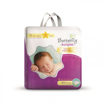 Butterfly Mega Baby Diaper