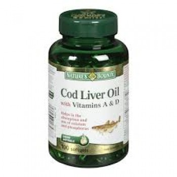 Nature's Bounty Cod Liver Oil