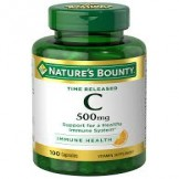 Nature's Bounty Vitamin C-500mcg 100's